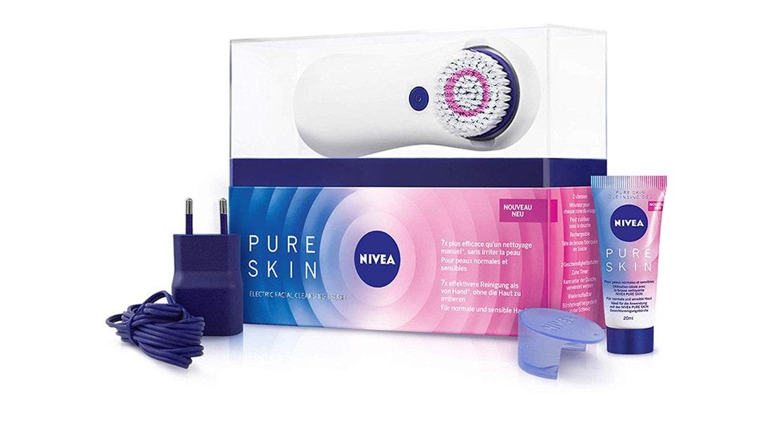 Cepillo de limpieza facial Nivea Pure Skin Facial Cleanser Brush