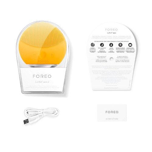 Beneficios Cepillo de limpieza facial FOREO Luna Mini 2